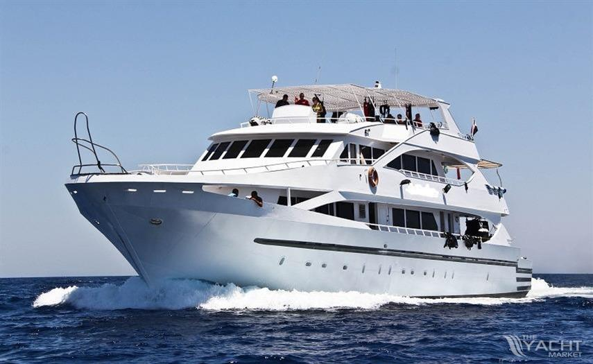alexandria dive safari yacht used boat for sale 2004 theyachtmarket