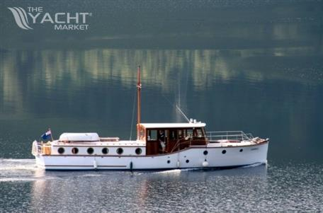 Gentlemans Launch Classic Motor Cruiser Used Boat For Sale 1929 Theyachtmarket