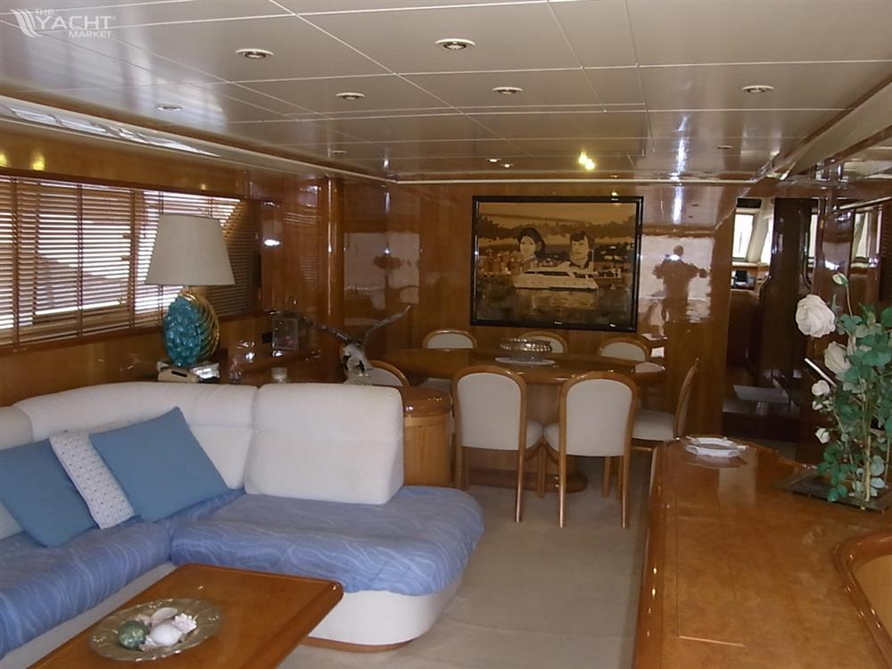 falcon 80 fly used boat for sale 1995 theyachtmarket