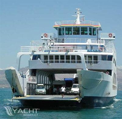 Double Ended Day Pax Car Ferry Used Boat For Sale 2007