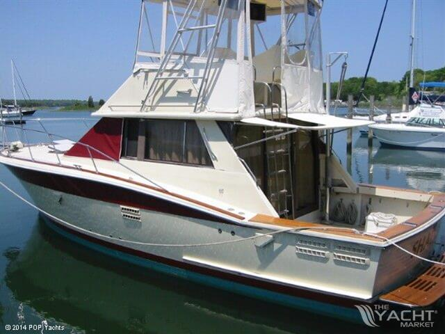trojan 36 flybridge convertible used boat for sale 1983 theyachtmarket
