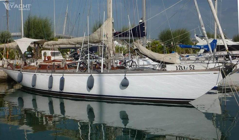 sparkman & stephens yawl used boat for sale 1970 theyachtmarket