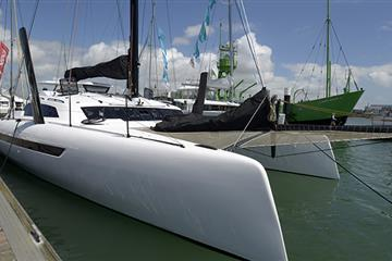 articles - exciting new boats at the uk's specialist multihull show