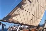 Classic Craft 50 foot Gaff Rigged Sloop - Under sail