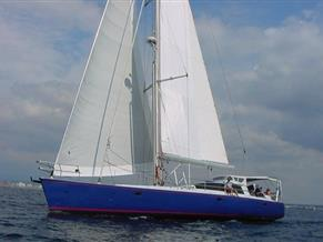Sailboat 65ft Cutter Sloop