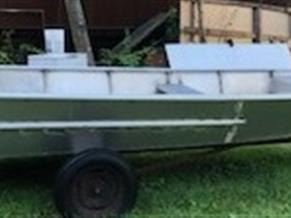 19'6 x 6'6 Aluminum Open Work Boat