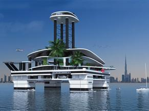 ACURY KOKOMO AILAND        BY CIMC Private floating habitat