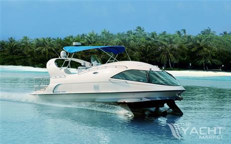 Paritetboat Hydrofoil yacht LOOKER 450S