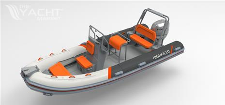 HIGHFIELD OCEAN MASTER 540 / PVC /  with HONDA BF 100