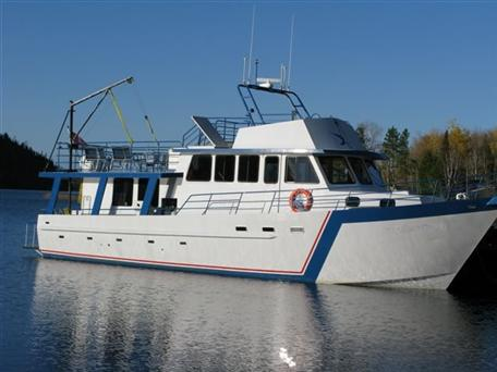 1997 17.37m Steel Overnight Charter Boat Sleeps 12 persons