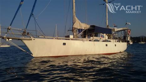 Custom Steel Ketch
