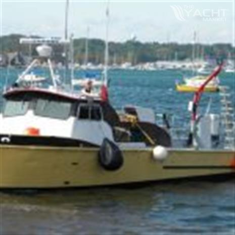 1973 35' x 12' x 3.2' Aluminum Crew/Dive Boat w/COI for 14 persons