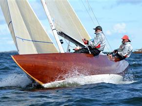 Robbe & Berking Classics S&S 6mR Yacht, Third-Rule