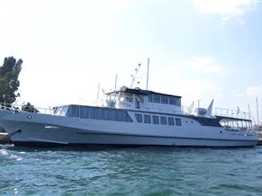 170PAX  DAY PASSENGER BOAT