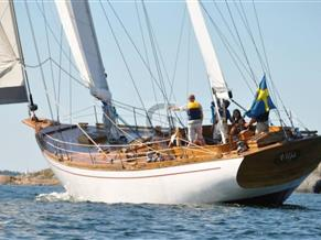 Bengt Romell 20m Traditional Swedish Wooden Ketch