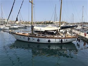 Alan Pape Classic Cutter Rigged Ketch